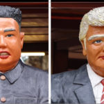 Hanoi restaurant celebrates Trump-Kim meeting with bizarrely unlike statues – VnExpress International