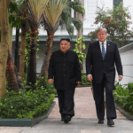 Trump, Kim paint rosy pictures as talks get underway