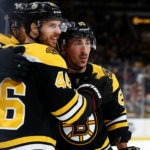 Bruins showing they can step up in David Pastrnak's absence
