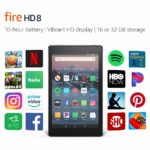 All-New Fire HD 8 Tablet | 8″ HD Display, 16 GB, Black – with Special Offers