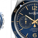 Bell & Ross BR V2-94 AERONAVALE Blue Dial Watch