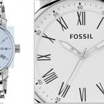 Fossil BQ1012 Rhett Three-Hand Men's Stainless Steel Bracelet Watch