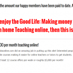 Teaching Online – Earn more than $5,000 per month!?
