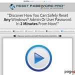 Reset Password Pro™ | Reset Any Windows Administrator or User Password In 3 Easy Steps!