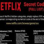 How to Access the Secret Code List of Netflix